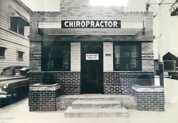 Our story starts with Dr. Katherine Pulse's father's chiropractic practice